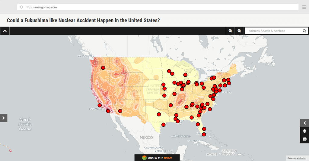 Could a Fukushima like accident happen in the US?