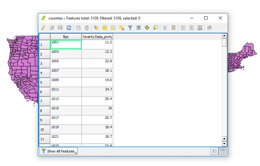 How to Create a Map from a Spreadsheet Containing Zip Codes