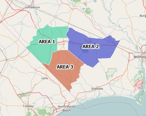 Probation-Areas