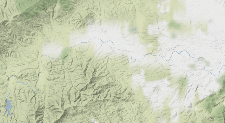 Stylized basemaps are useful to provide basic context without overpowering data visualizations