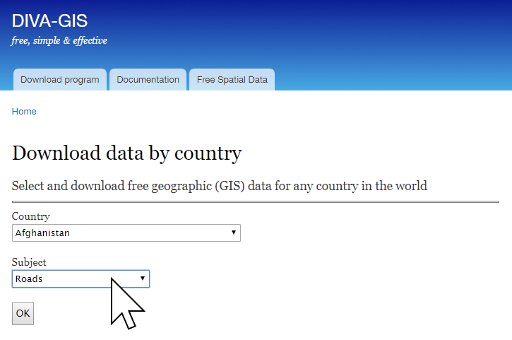 DIVA GIS offers a large range of country administrative boundary spatial data