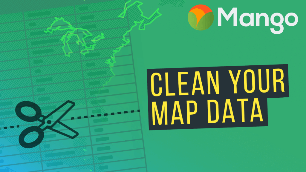 Clean Up Your Map Data